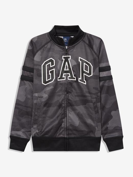 Erkek Çocuk Gri GapFit Gap Logo Sweatshirt
