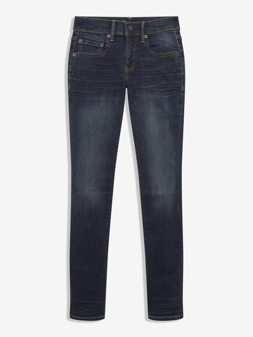 Erkek Çocuk Lacivert Super Skinny Jean Pantolon