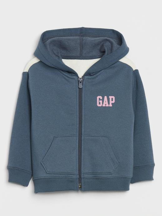 Kız Bebek lacivert Gap Logo Kapüşonlu Sweatshirt