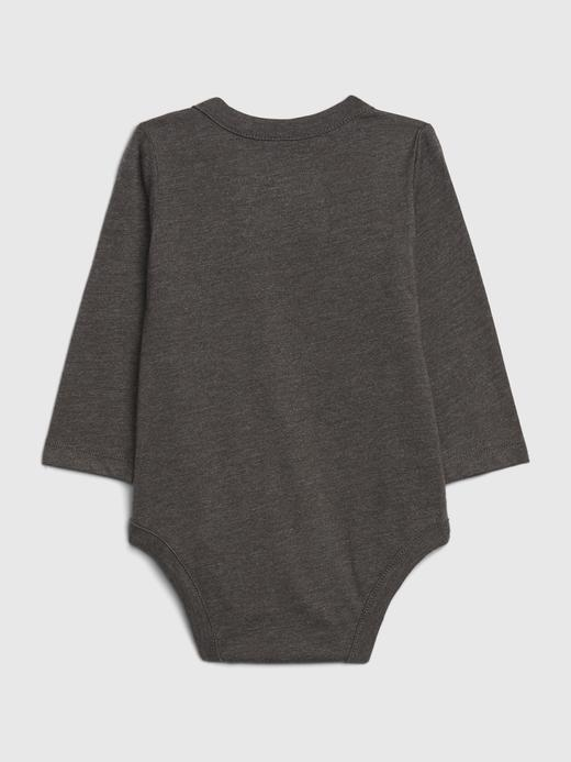Erkek Bebek Siyah DC™ Grafik Body