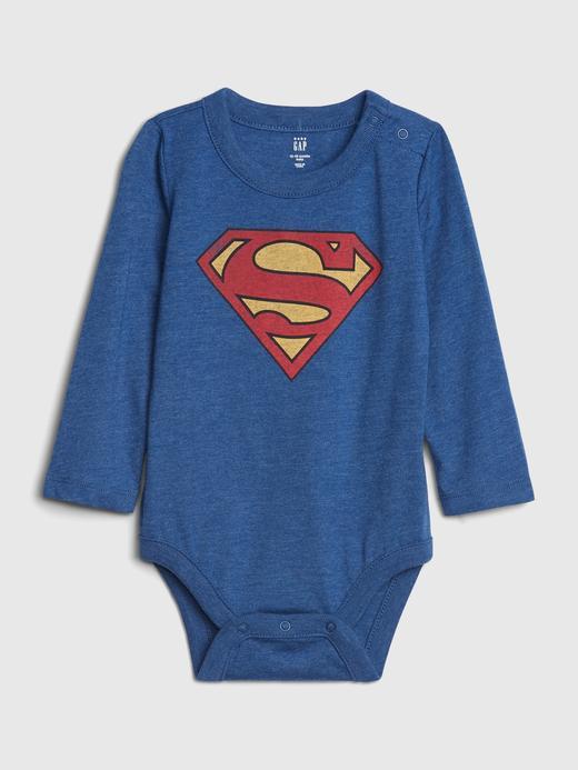 Erkek Bebek Mavi DC™ Grafik Body