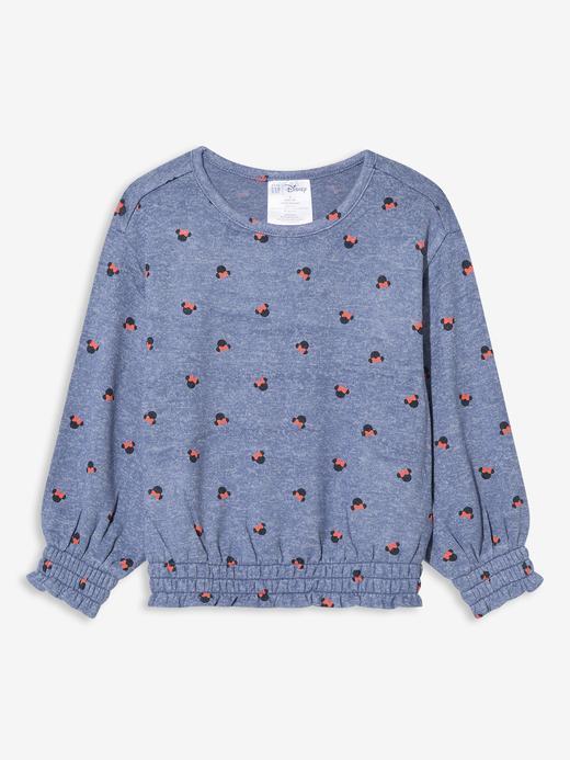 Kız Bebek Mavi Disney Minnie Mouse Bluz