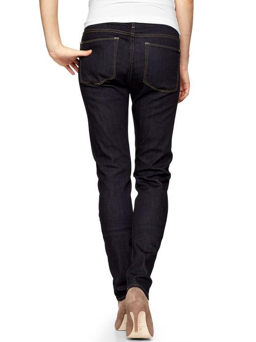 Lacivert Maternity Skinny Jean Pantolon