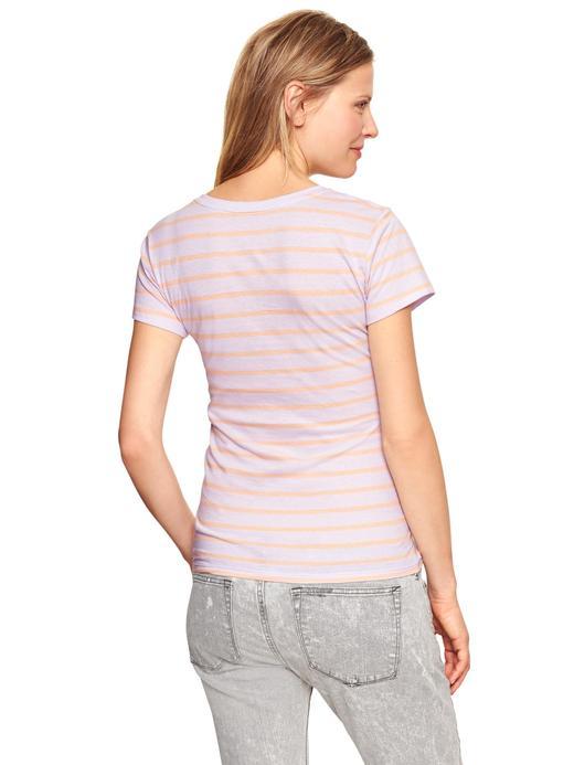 Kadın mor Maternity V Yaka T-Shirt