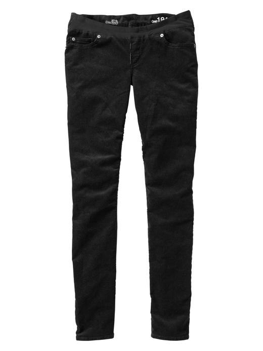 Siyah Maternity Skinny Jean Pantolon