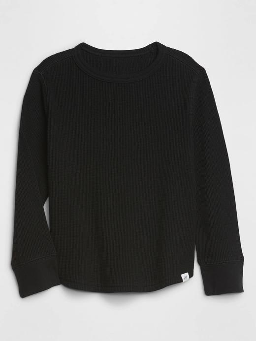Erkek Bebek Siyah Uzun Kollu T-Shirt
