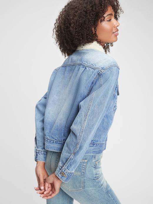 Kadın Mavi Icon Denim Ceket