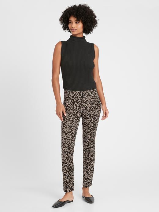 Kadın Siyah Mid Rise Skinny Pantolon
