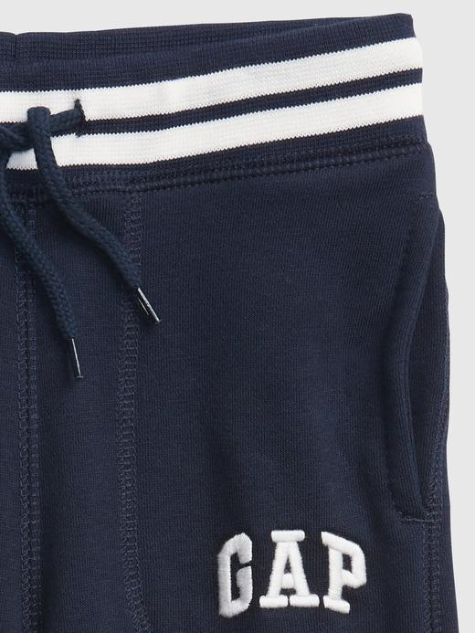 Erkek Bebek Mavi Gap Logo Pull On Eşofman Altı