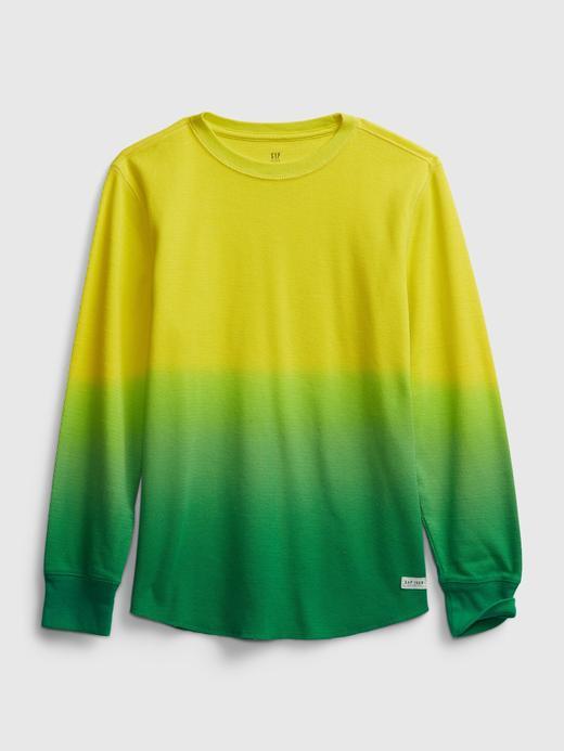 Erkek Çocuk Yeşil Uzun Kollu T-Shirt