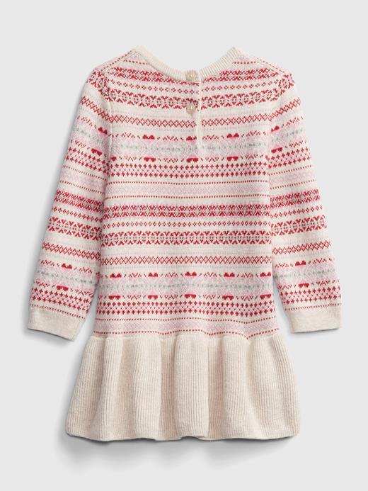 Kız Bebek  Desenli Elbise