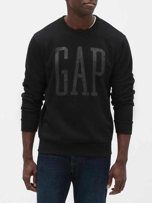 Erkek  Gap Logo Yuvarlak Yaka Sweatshirt