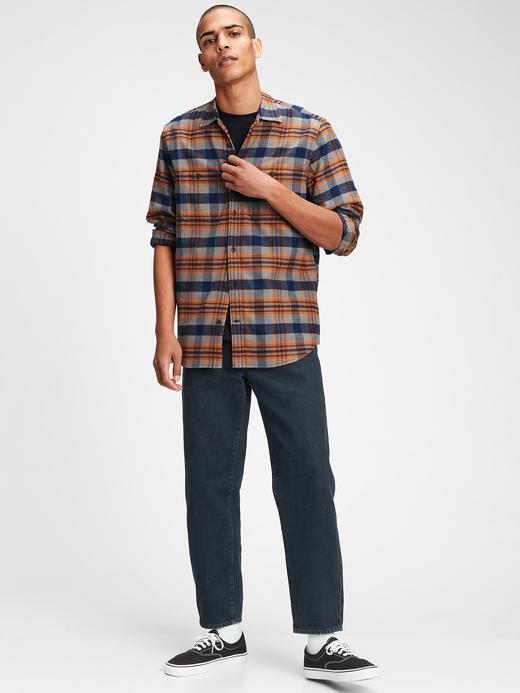 Erkek  Standard Fit Ekose Gömlek