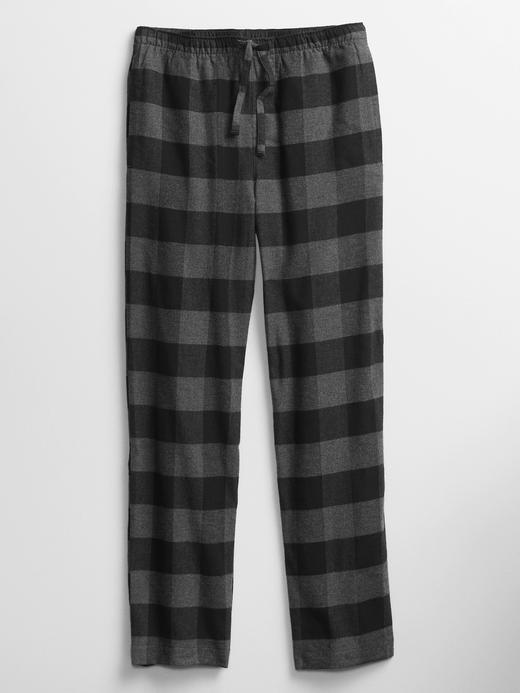 Erkek Gri Desenli Pijama Altı