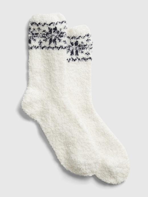 Kadın Beyaz Cozy Çorap