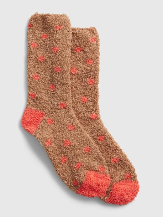 Kadın Kahverengi Cozy Çorap
