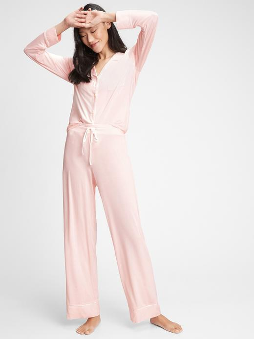 Kadın Pembe Modal Karışımlı Pijama Altı