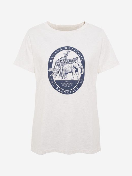 Kadın Bej Grafik Kısa Kollu T-Shirt
