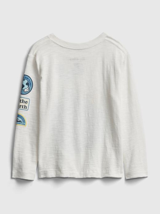 Erkek Bebek Beyaz Disney Mickey Mouse Grafik T-Shirt