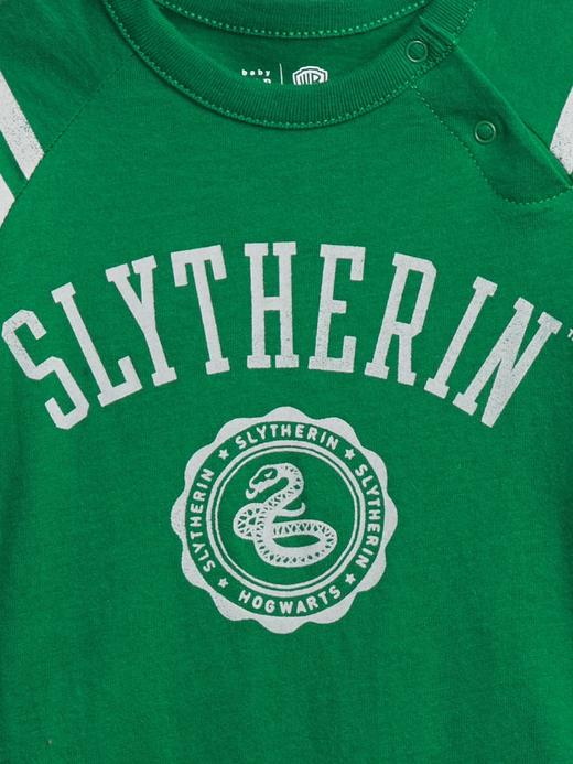 Erkek Bebek Yeşil Harry Potter Grafik Body