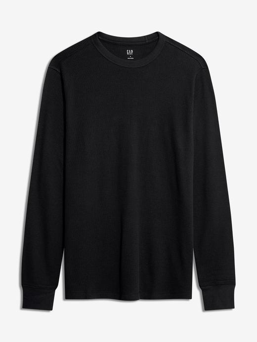 Erkek Siyah Uzun Kollu T-Shirt