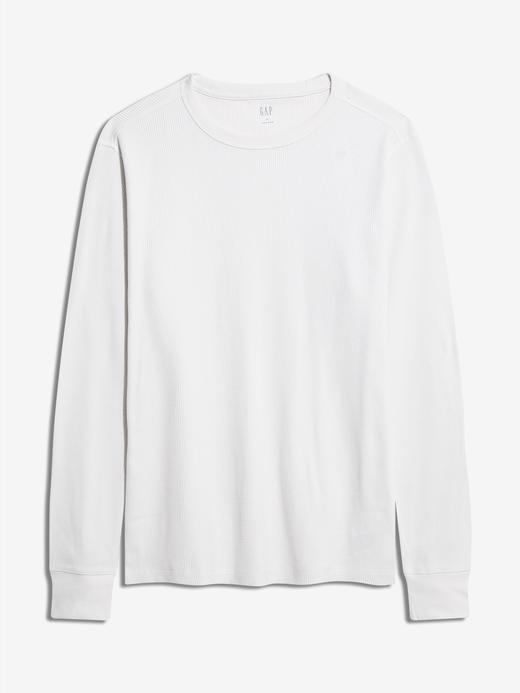 Erkek beyaz Uzun Kollu T-Shirt