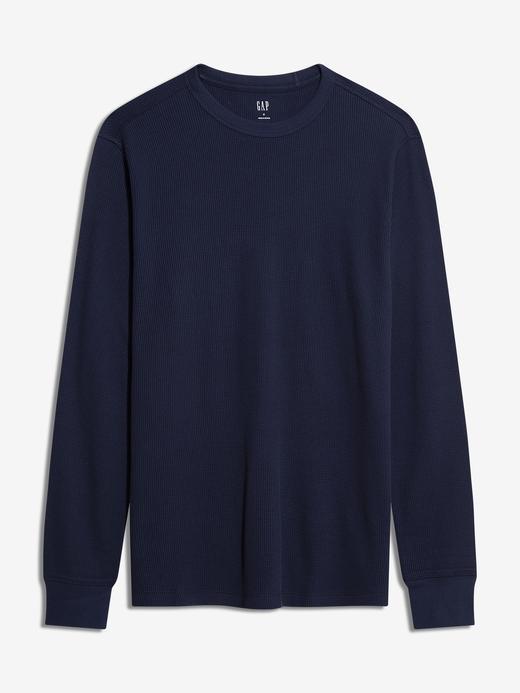 Erkek Lacivert Uzun Kollu T-Shirt