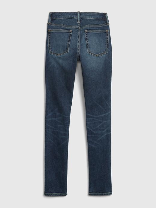Genç Erkek Lacivert Genç Erkek |  Stacked Ankle Skinny Jean Pantolon