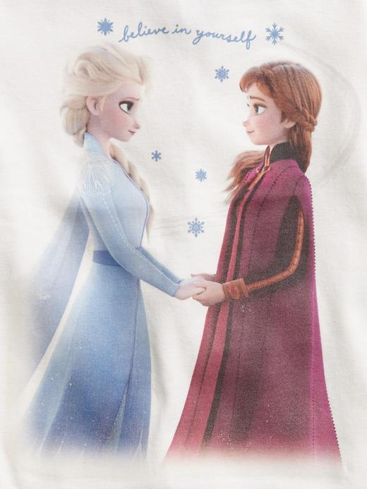 Erkek Bebek Beyaz Disney Frozen Pijama Takımı