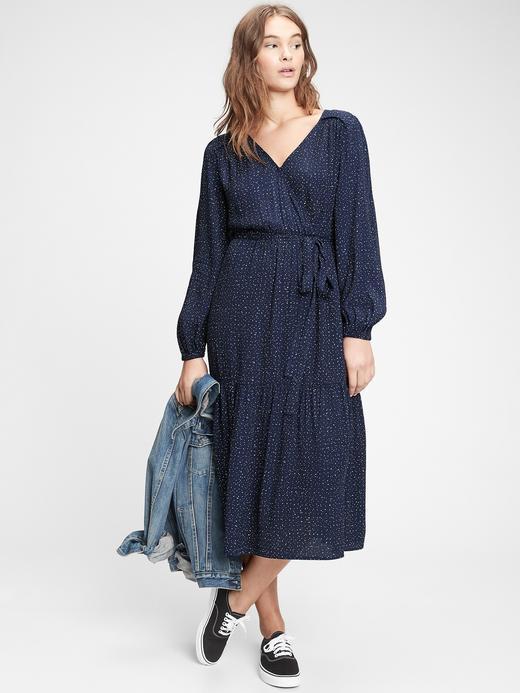 Kadın  Anvelop Midi Elbise