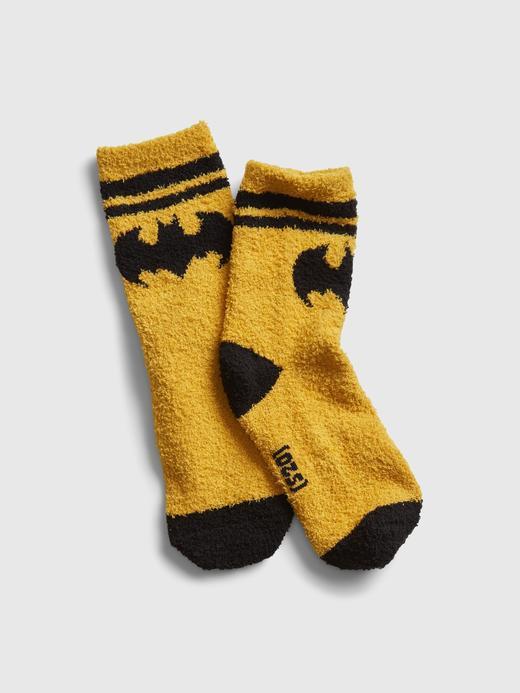 Erkek Çocuk Sarı DC™ Batman Grafik Çorap