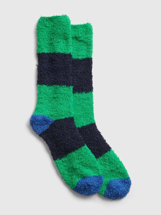 Erkek Yeşil Cozy Çorap