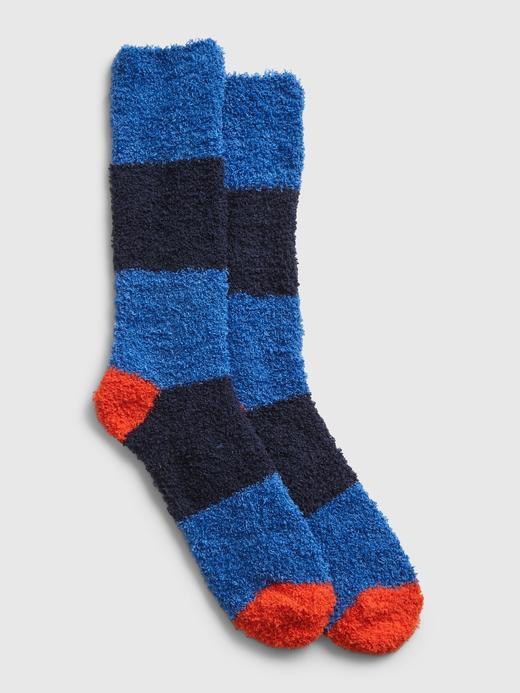 Erkek Mavi Cozy Çorap