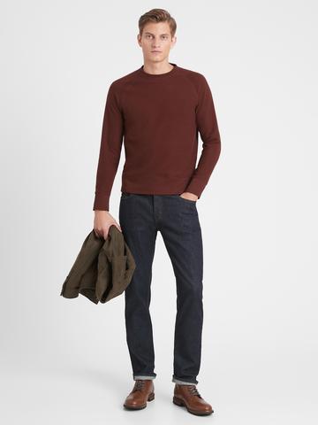 Erkek Gri Uzun Kollu T-Shirt