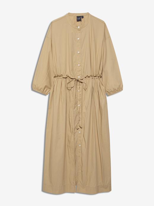 Kadın Bej 3/4 Kollu Elbise