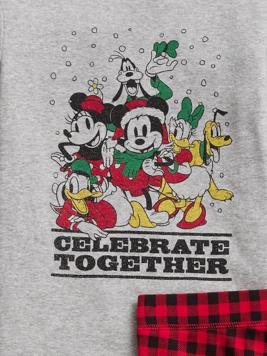 Kız Çocuk gri Disney Mickey Mouse ve Arkadaşları Pijama Takımı
