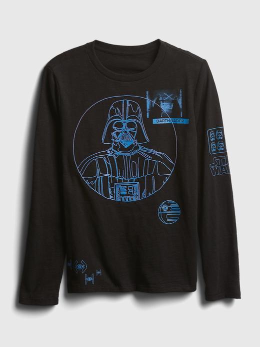 Erkek Çocuk Siyah Star Wars™ Grafik T-Shirt