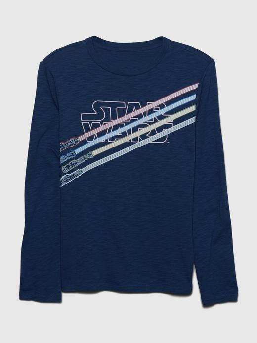Erkek Çocuk Mavi Star Wars™ Grafik T-Shirt
