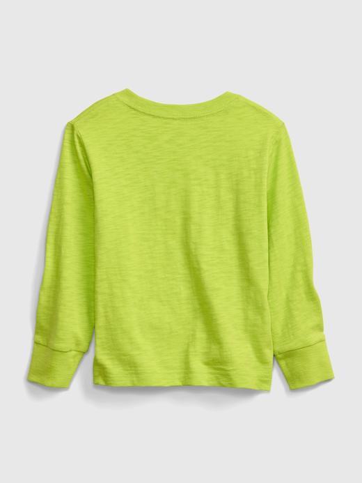 Erkek Bebek Yeşil StarWars Yuvarlak Yaka Sweatshirt