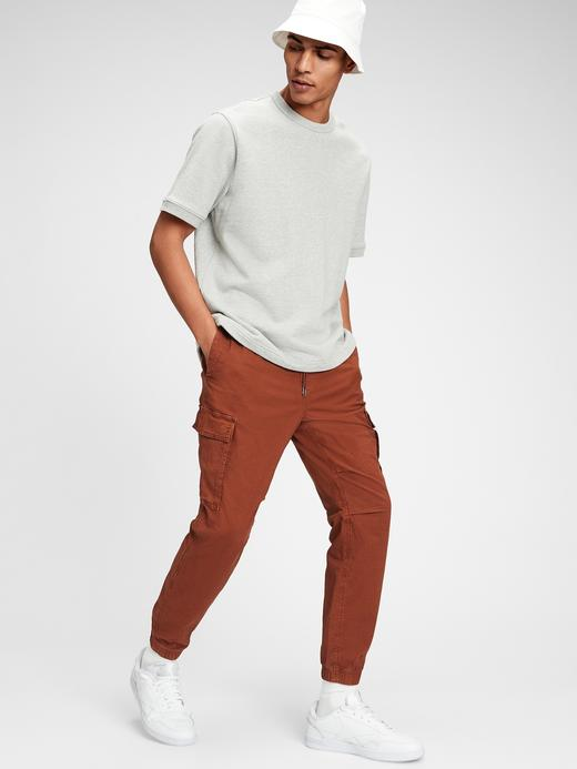 Erkek Kahverengi GapFlex Kargo Pantolon