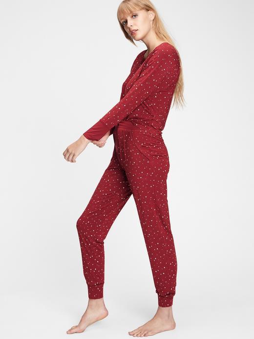 Kadın Kırmızı Modal Pijama Altı
