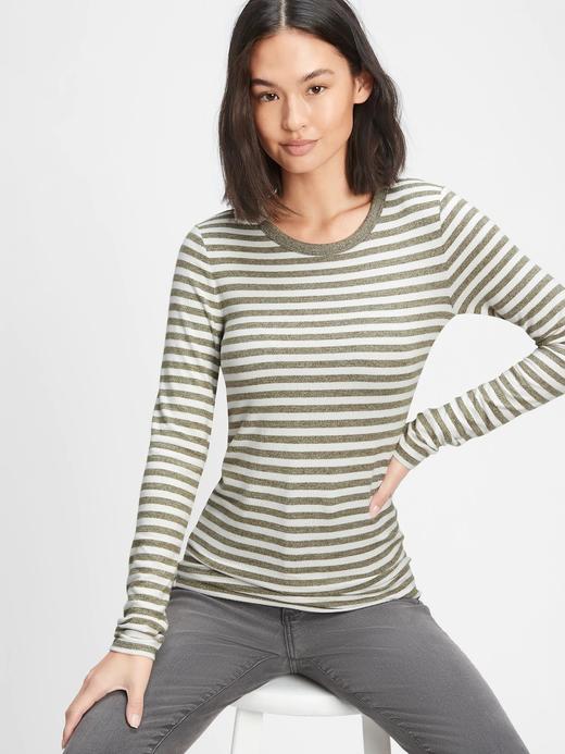 Kadın Yeşil Cozy Uzun Kollu T-Shirt