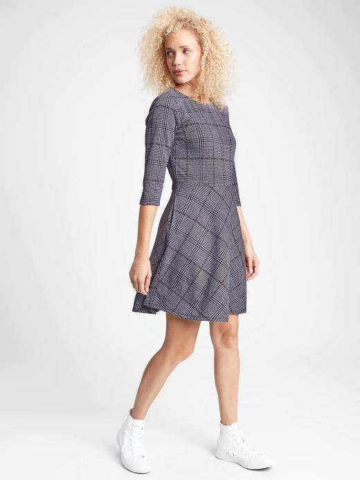 Kadın  3/4 Kollu Elbise