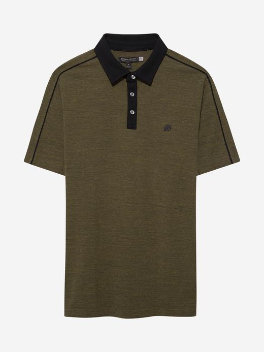 Erkek Yeşil Pique Polo Yaka T-Shirt