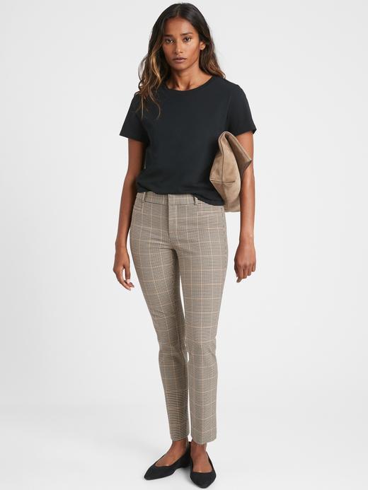Kadın Kahverengi Mid Rise Skinny Roan Pantolon