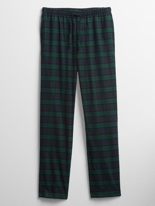 Erkek Yeşil Desenli Pijama Altı