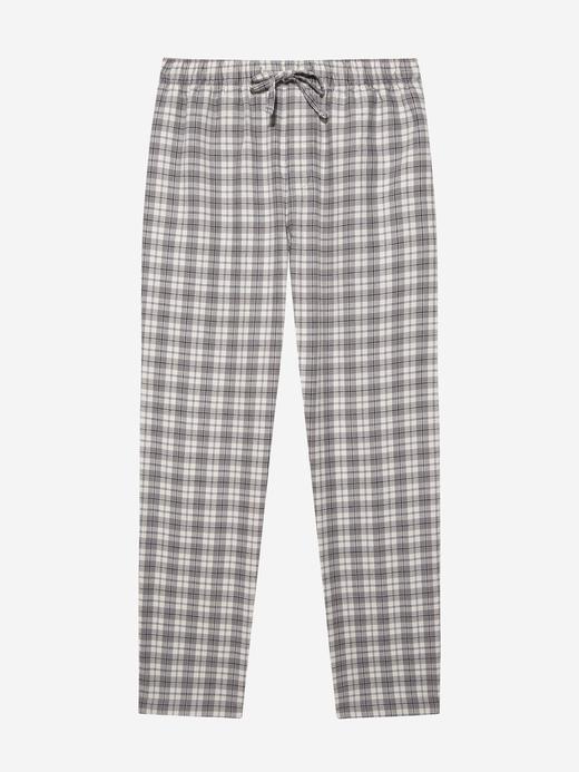 Erkek Beyaz Desenli Pijama Altı