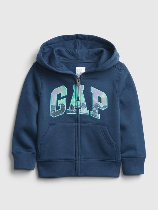 Erkek Bebek  Gap Logo Kapüşonlu Sweatshirt