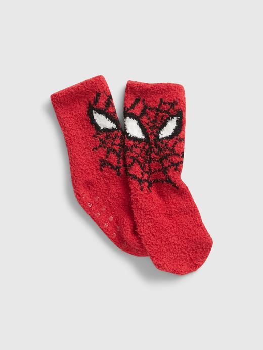 Bebek Kırmızı Marvel Spider-Man Cozy Çorap
