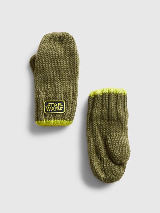 Bebek Yeşil Star Wars™ Örme Eldiven
